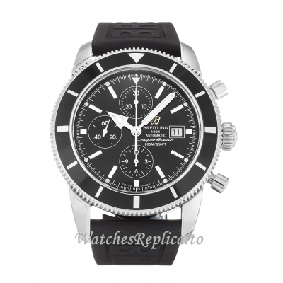 Breitling SuperOcean Heritage Black Dial A13320 46 MM