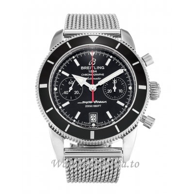 Breitling SuperOcean Heritage Black Dial A23370 44 MM