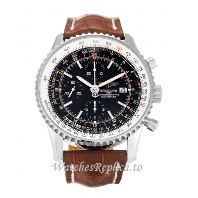 Breitling Navitimer World Black Dial A24322-46 MM