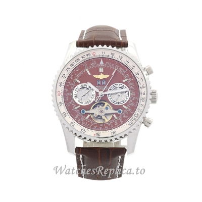 Breitling Navitimer World Brown Dial A24322 46 MM