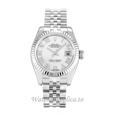 Rolex Datejust Lady Mother of Pearl   White Dial 179174 26MM