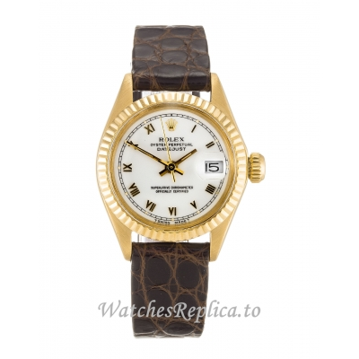 Rolex Datejust Lady White Dial 6916 26MM