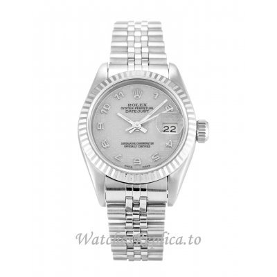 Rolex Datejust Lady Silver Jubilee Dial 69174 26MM