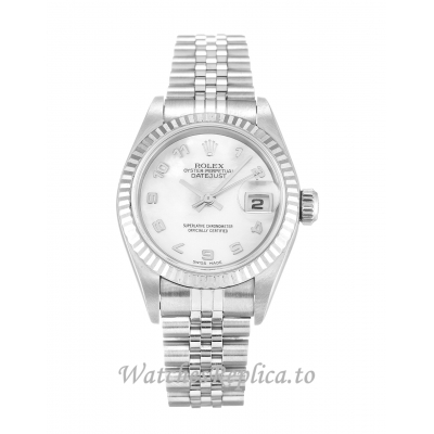 Rolex Datejust Lady Mother of Pearl   White Dial 79174 26MM
