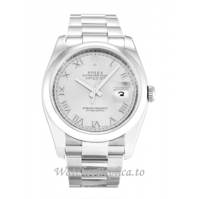 Rolex Datejust Silver Dial 116200 36MM