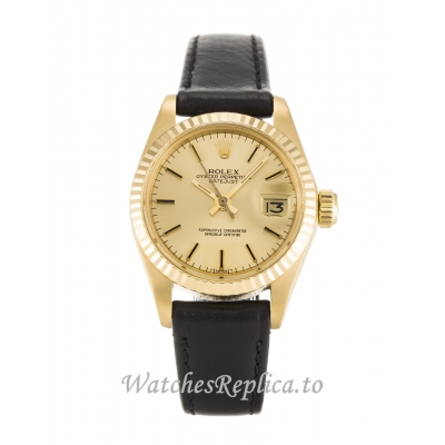 Rolex Datejust Lady Champagne Dial 6917 26MM