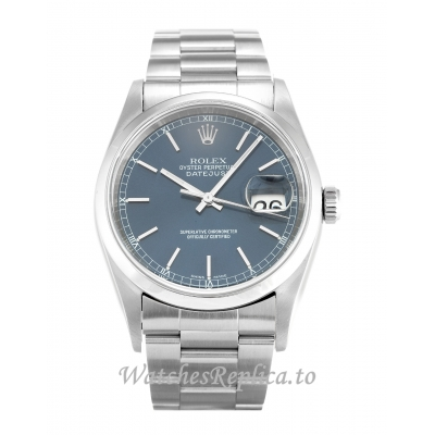 Rolex Datejust Blue Dial 16200 36MM
