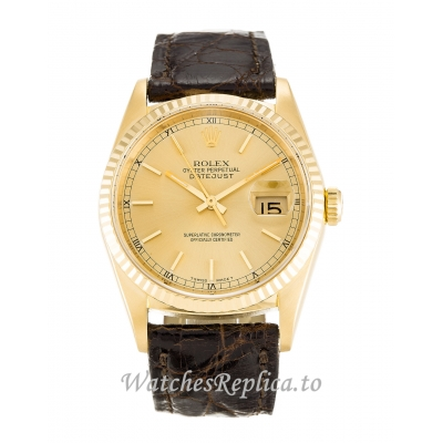 Rolex Datejust Champagne Dial 16238 36MM