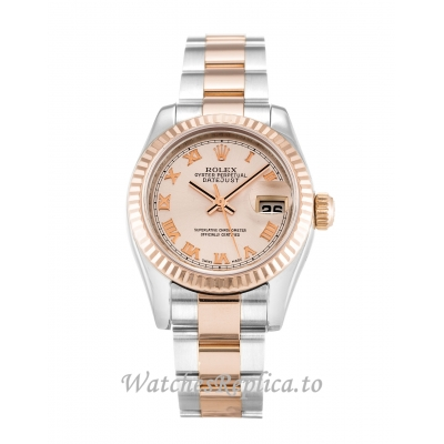 Rolex Datejust Lady Rose Dial 179171 26MM