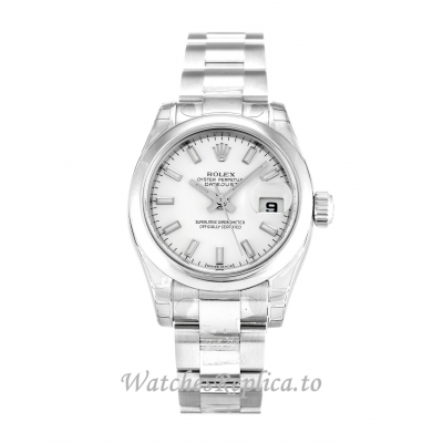 Rolex Datejust Lady White Dial 179160 26MM