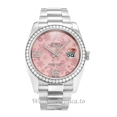 Rolex Datejust Floral Dial 116244 36MM
