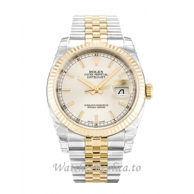 Rolex Datejust Silver Dial 116233 36MM