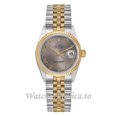 Fake Rolex Datejust 68273 Silver Dial Gold & Steel Women's 31MM