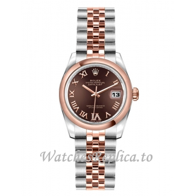 Rolex Datejust Replica 179161 Chocolate Dial 26mm