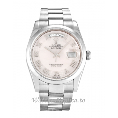 Rolex Day Date Mother of Pearl   White Dia 118209 36MM