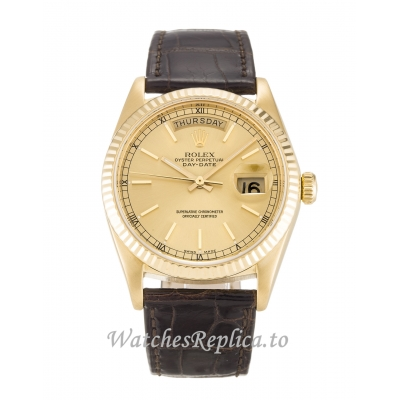 Rolex Day Date Champagne Dia 18038 36MM