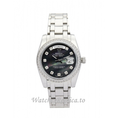 Rolex Day Date Black Dia 118346 36MM