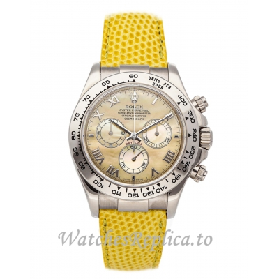 Rolex  Daytona Replica Yellow Dial 116519 40mm