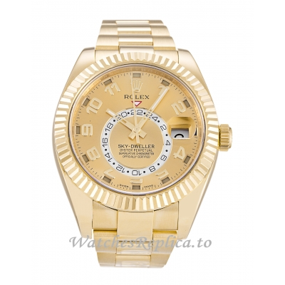 Rolex Sky Dweller Champagne Dial 326938 42 MM