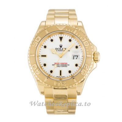 Rolex Yacht Master White Dial 16628 40MM