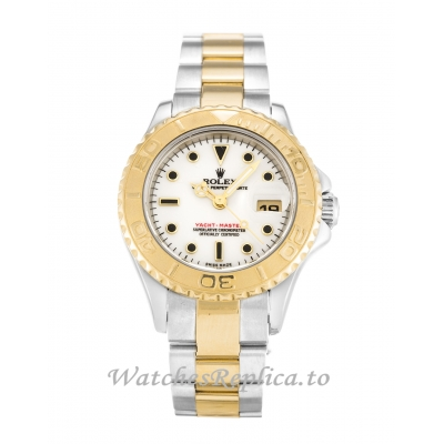 Rolex Yacht Master White Dial 169623 29MM