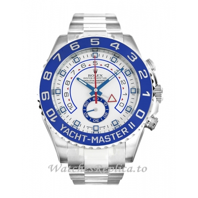 Rolex Yacht-Master II White Dial 116680-44 MM