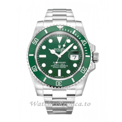Rolex Submariner Green Dial 116610 LV-40 MM