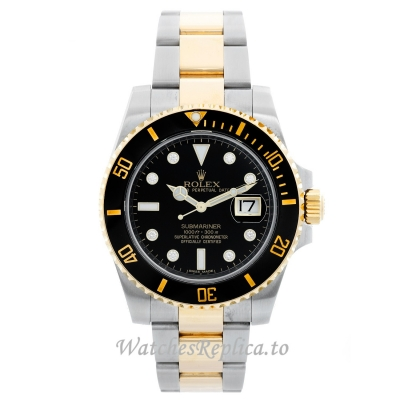 Rolex Submariner Replica Watch Black Dial 16613 LB 40MM