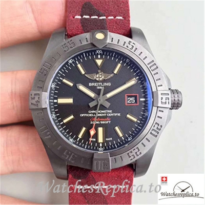 Swiss Breitling Avenger Blackbird Replica V1731110/BD74/109W/M20BASA.1 001 Red Strap 44MM