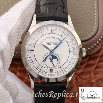 Swiss Patek Philippe Complications Annual Calendar Replica 5396G-001 Black Strap 38MM