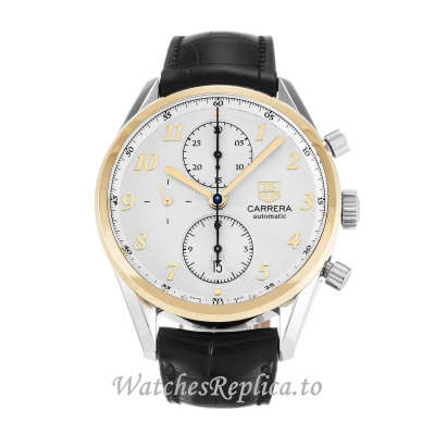 Tag Heuer Carrera Silver Dial CAS2150.FC6291 41MM