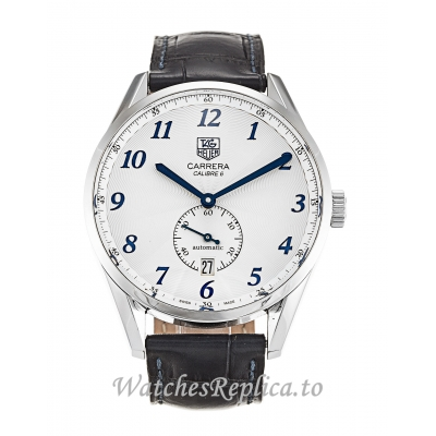 Tag Heuer Carrera Silver Dial WAS2111.FC6293 41MM