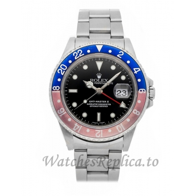 Rolex Replica GMT-Master II Pepsi 40mm 16710