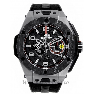 Hublot Replica Big Bang Ferrari Edition Titanium Chronograph 45MM 401.NJ.0123.VR