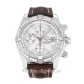 Breitling Chronomat Evolution Mother of Pearl   White Diamond Dial A13356 44MM