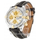 Breitling Chronomat Evolution Mother of Pearl   White Dial B13356 44MM