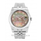 Rolex Datejust Mother of Pearl Black   Diamond Dial 116234 36MM