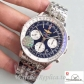 Swiss Breitling Navitimer 01 Replica AB012012/BB01/447A Silver Strap 43MM