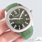 Swiss Patek Philippe Aquanaut Jumbo Replica 5167A Green Strap 40.5MM