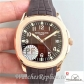 Swiss Patek Philippe Aquanaut Jumbo Replica 5167R-001 Brown Strap 40.5MM