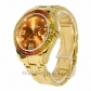 Rolex Replica Pearlmaster Datejust Yellow Gold Orange Sapphires 39MM Watch 86348SAJOR